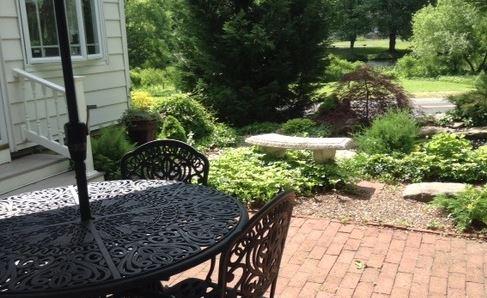 The Garden that overlooks the lake (hashtag cliche)