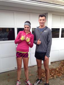 Good times with my brother running