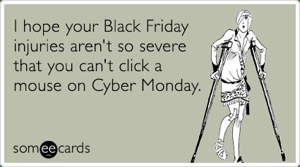 black friday shopping meme