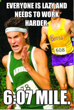 Marathoner Meme
