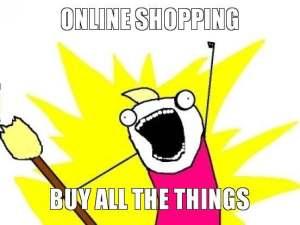 online shopping meme