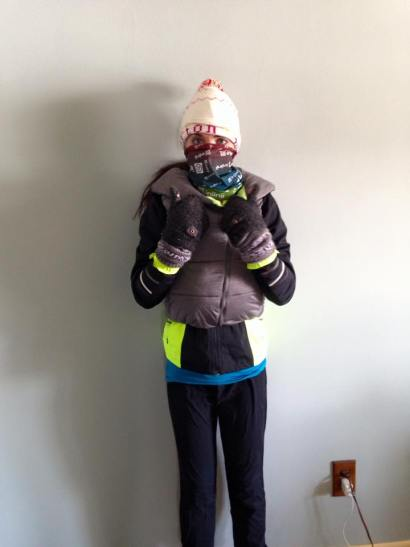 So much winter technology...