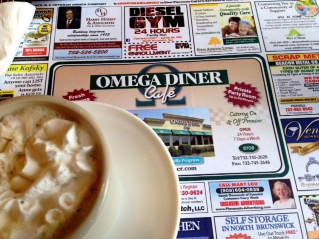 Omega Diner Coffee