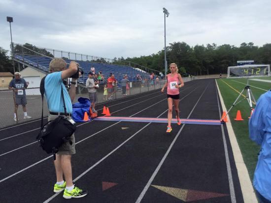 Pineland Striders finish