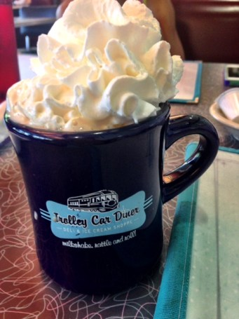 Trolley Car Diner Coffee