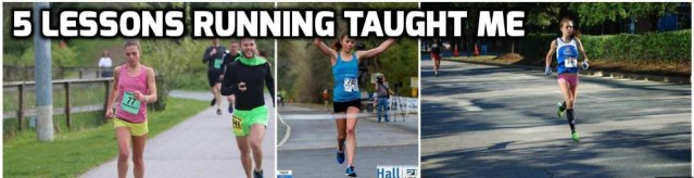 5 lessons Running Taught Me