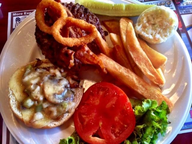 Deepwater Diner Burger