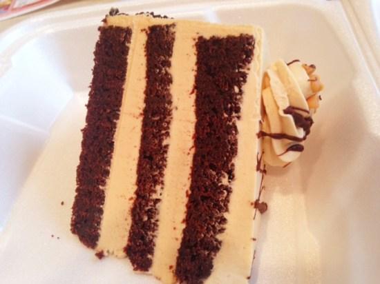 Pegasus Restaurant Cake