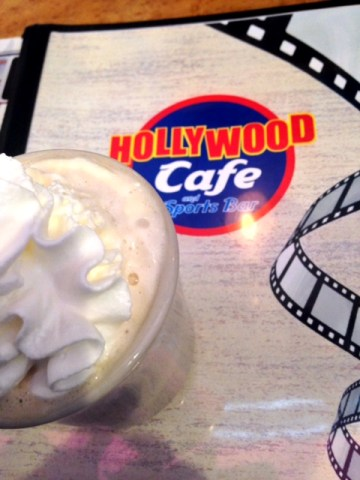 Hollywood diner coffee