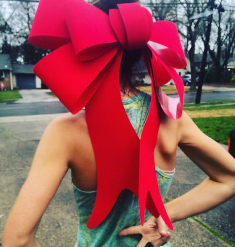 Holiday Christmas Bow...because why not