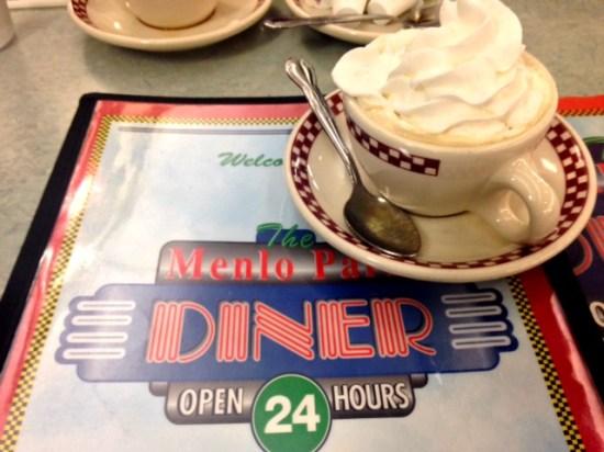 menlo park diner coffee