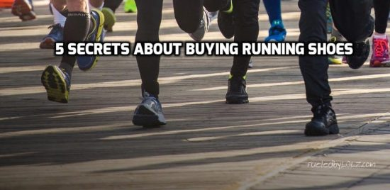 Five Secrets about Buying Running Shoes