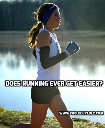 does running ever get easier