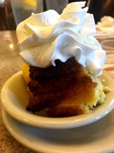 Landmark Diner bread pudding