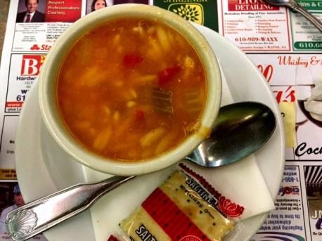 Minella's Diner soup