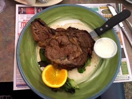 Minella's Diner prime rib