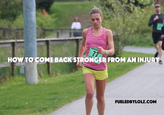 How to Come Back Stronger from an Injury