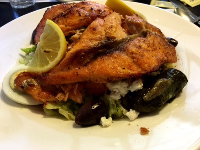 Hillsborough Star Diner salmon