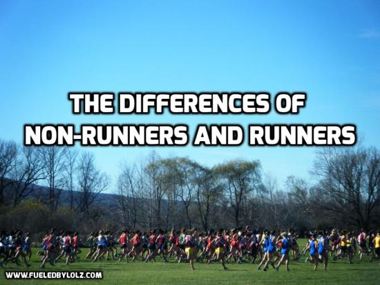 The Differences of Non-runners and Runners