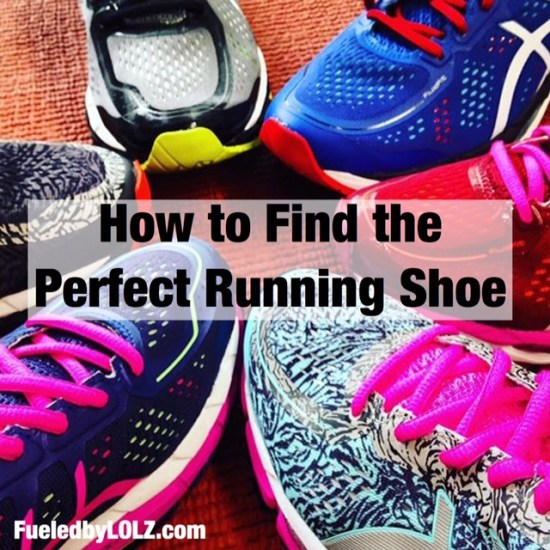 How to find the perfect running shoe