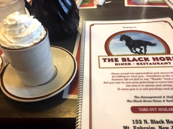 The Black Horse Diner mount ephraim