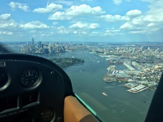 new york city private flying