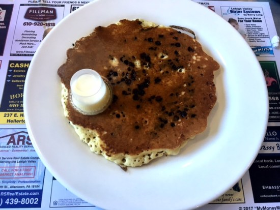 East Penn Diner Emmaus pancake