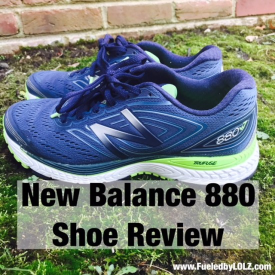 New Balance 880v7 shoe review