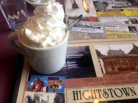Hightstown diner Food network coffee