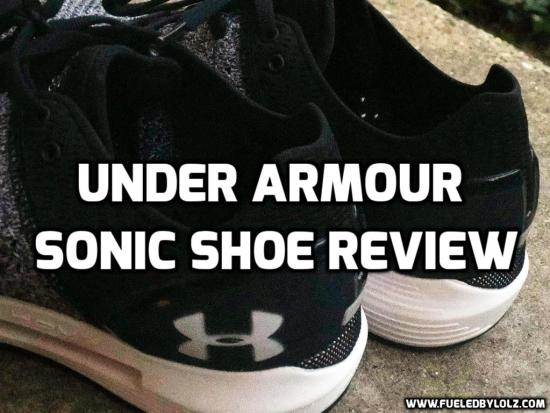 under armour hovr sonic shoe review