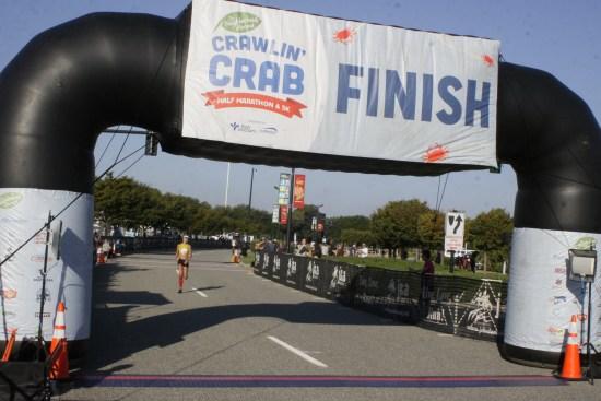 Crawlin crab half marathon hampton va me running