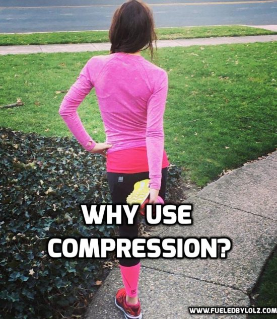 Why use compression running