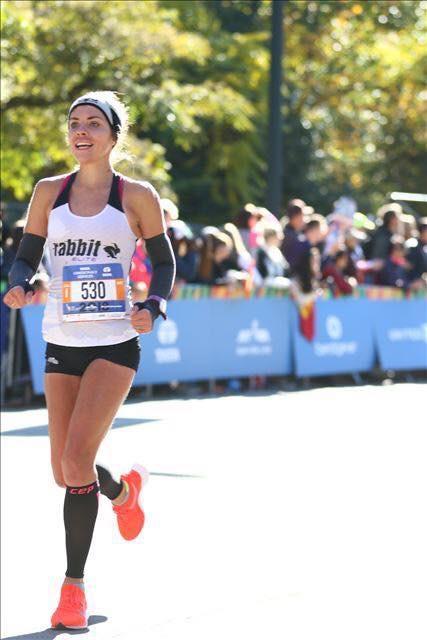 New York City Marathon me running 4769ec1691f