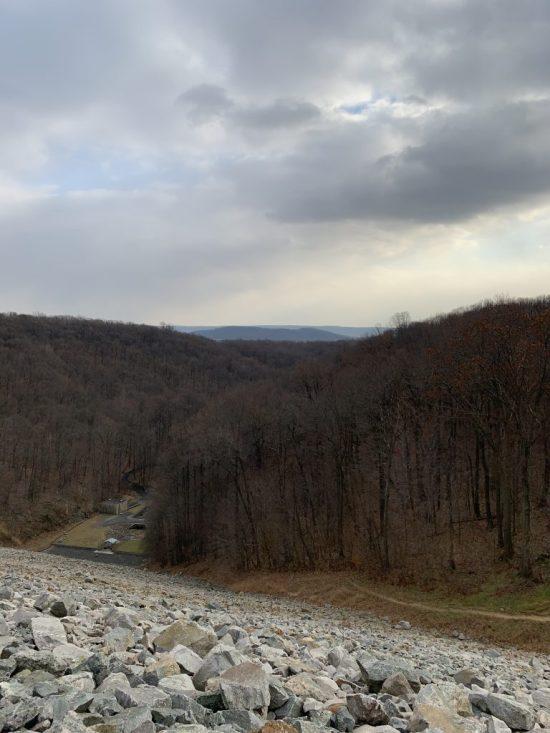 Walking Merrill Creek Reservoir