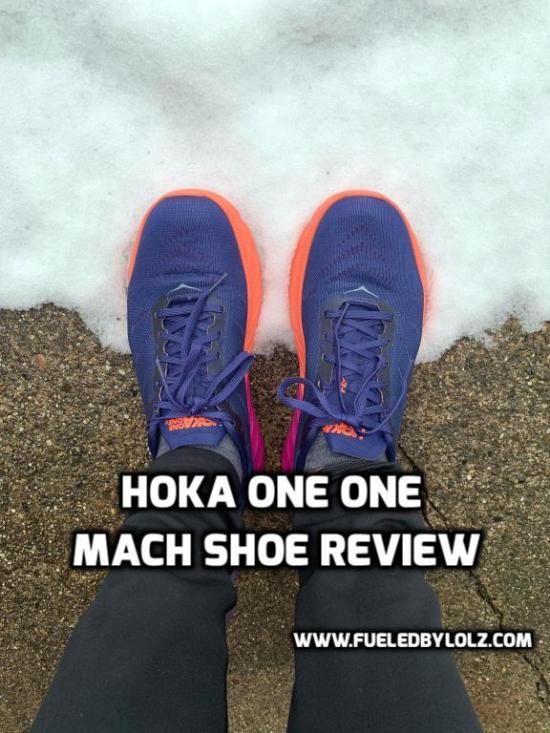 hoka one one mach