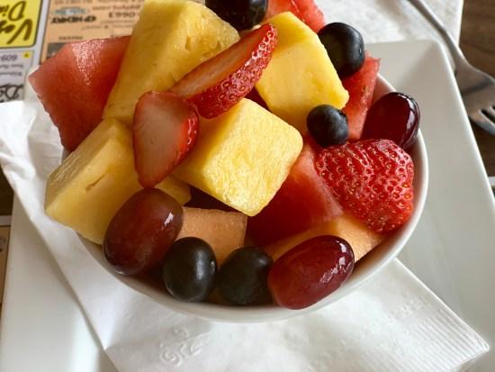 Vegas Diner wildwood fruit cup