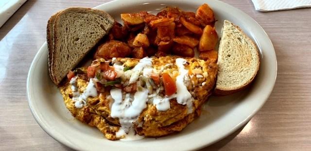 Pleasantville Diner NJ omelet