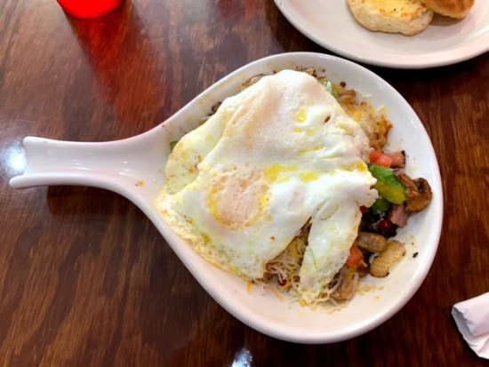 Indy's Famous Pancake House and Grill skillet