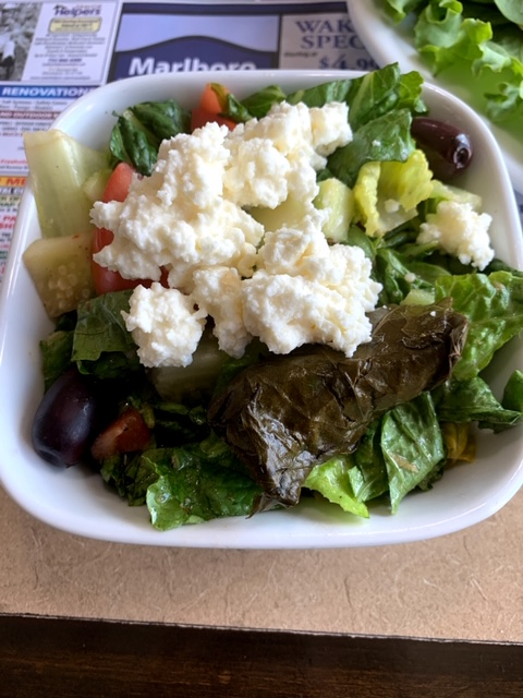 Marlboro Diner greek salad