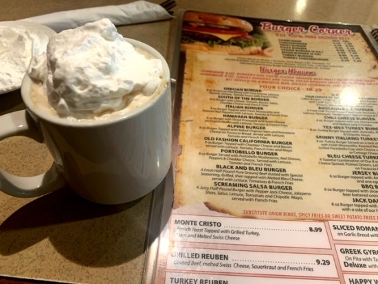 Park Place Diner Matawan coffee