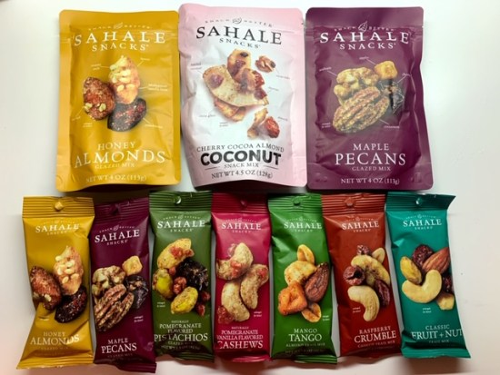 Snacking with sahale snacks