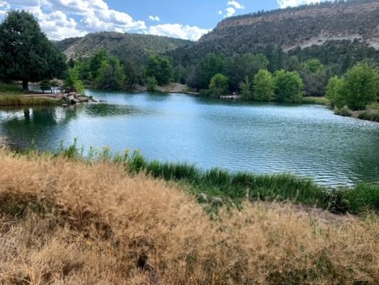 Ridgway State Park Colorado
