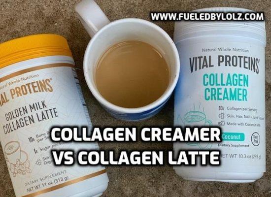 Vital Proteins Collagen Creamer vs Collagen Latte