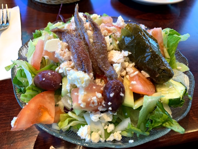 Toms River Diner greek salad