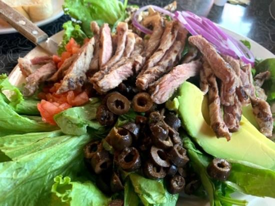 19th Street Diner (Glenwood Springs, Co) salad