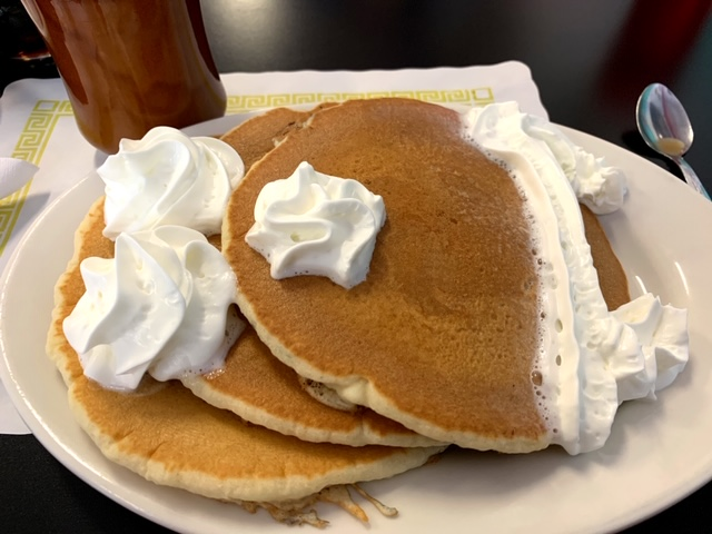 Martucci's Flashback Diner (Whiting) pancakes