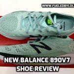 New Balance 890v7 Shoe Review