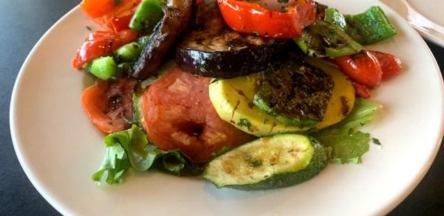 Amphora's Diner Deluxe mixed vegetables