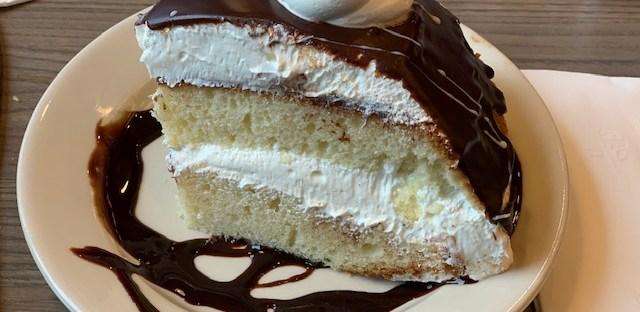 Olgas Diner Marlton boston cream pie