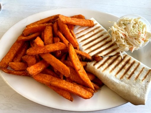 The Truck Stop Diner (Kearny) veggie wrap